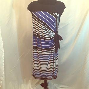 CATO's -Black, White, Blue dress